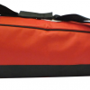 red and black hurley bag profile