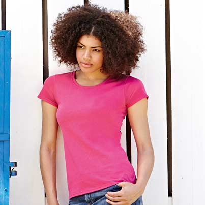 printed-embroidered-fruit-of-the-loom-lady-fit-value-t-shirt-model