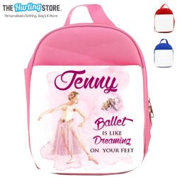 ballet lunch bags