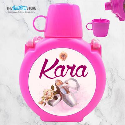 ballet pink kids waterbottle
